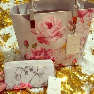 Ted Baker purse and wallet combo